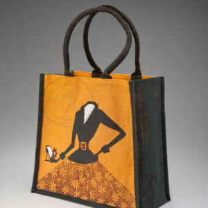 jute promotional bags by color