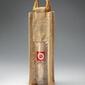 Jute Wine Bag Single Bottle 1