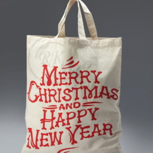 cotton Christmas gift bags