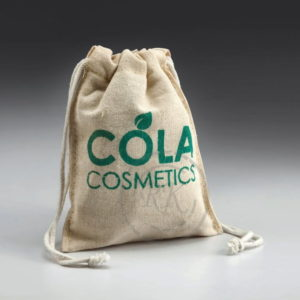 cotton drawstring bag with printing