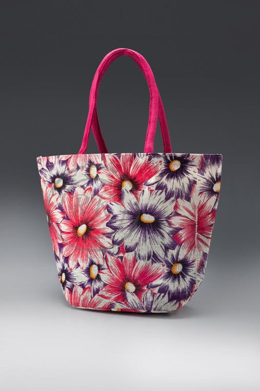 jute beach bags sunflower