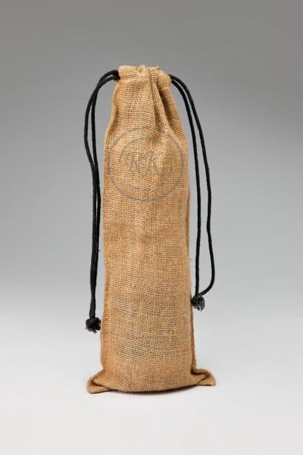Jute drawstring wine Bags 1