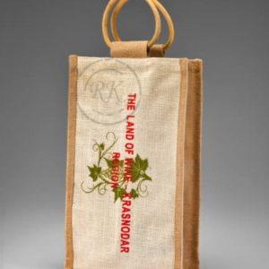 Jute Wine Bags | Wine Bag Exporter | Wine Bag manufacturer