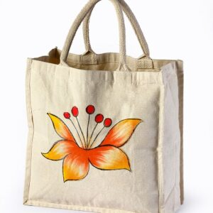 cotton bag flower print