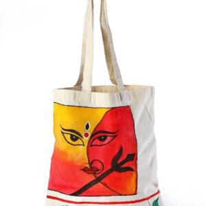 Calico Bag durga printed