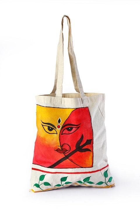 Calico Bag durga printed