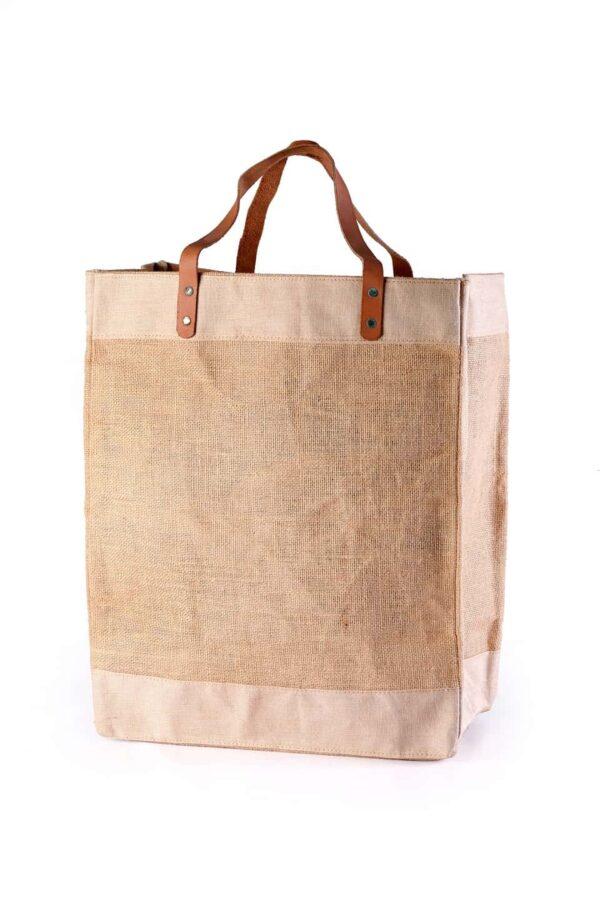 Jute Shopping bag Non Printed