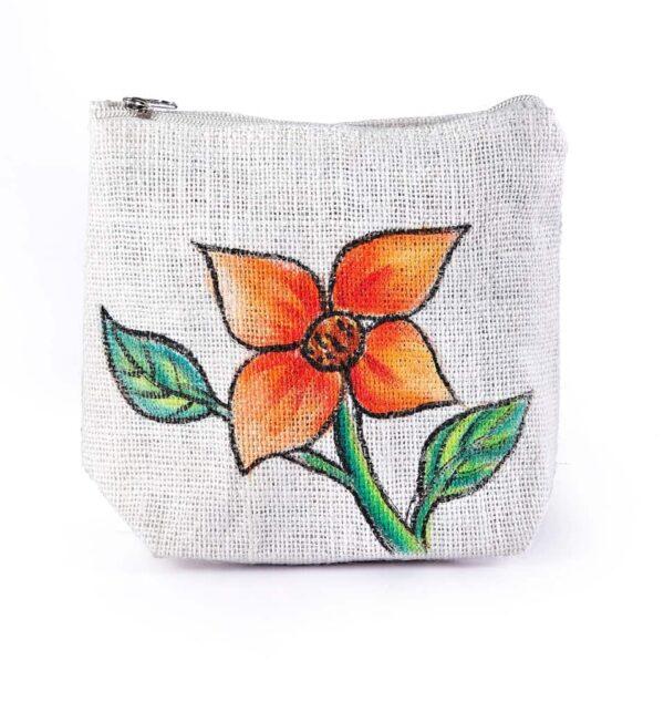 Ladies Parts bag Flower Leaf Printed