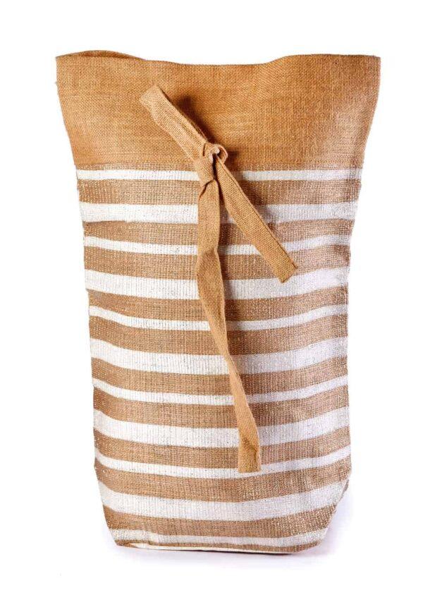 Cotton Christmas drawstring bag Brawn
