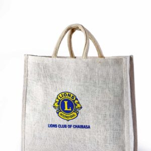Jute Promotional Bag Logo Printed