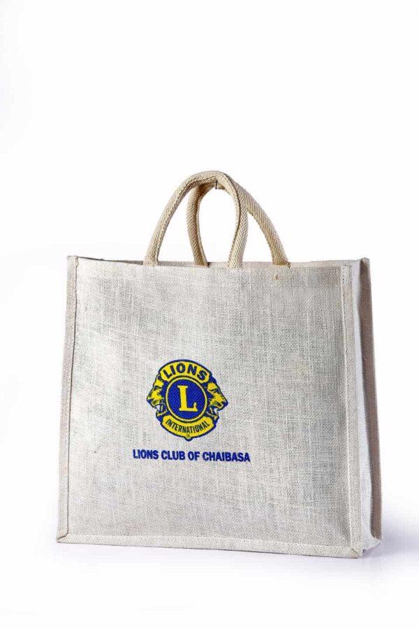 Jute Promotional Bag Logo Printed