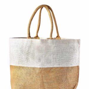 Natural Jute Beach bag Unprinted