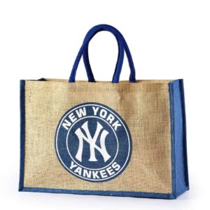 Jute Promotional Bag New York Yankess