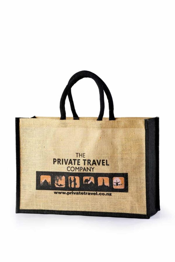 Jute Promotional Bag Private Travel