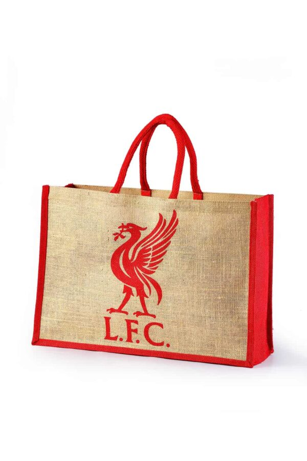Jute Promotional Bag LFC Logo Printed