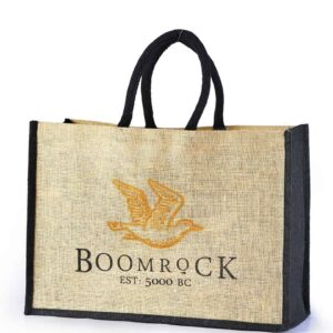 Jute Promotional Bag Boomrock Logo Printed