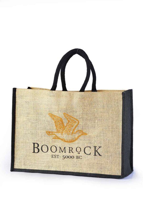 Jute Promotional Bag Boomrock Logo Printed
