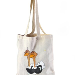 Calico Bag Ostrich Printed