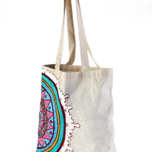 Calico Bag Multicolor Printed