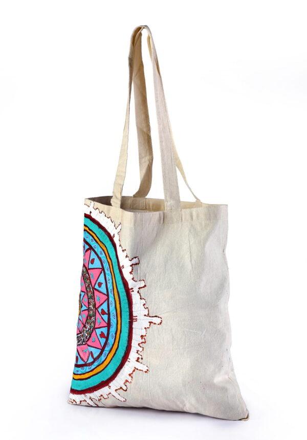 Calico Bag Multicolor Printed