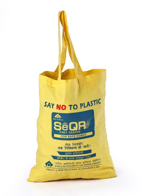 Cotton Promotional Bag Say No to Plastic Printed