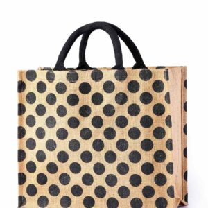 Jute Shopping Bag All Side Printed