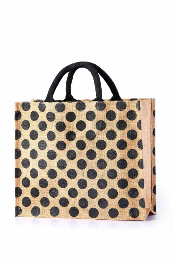 Jute Shopping Bag All Side Printed